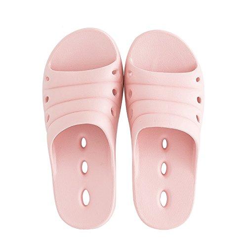 nbsp;Pantofole femmina leggera rapido deodorazione e estate rosa bagno acqua Fankou e base pantofole da esposto interno semplice perdite raffreddamento schiuma a 36 secco scarpe 35 d8CqywKE5