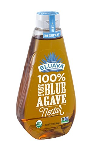 Bluava 100% Pure Blue Agave Nectar Syrup, 23.50 - Nectar Agave Blue