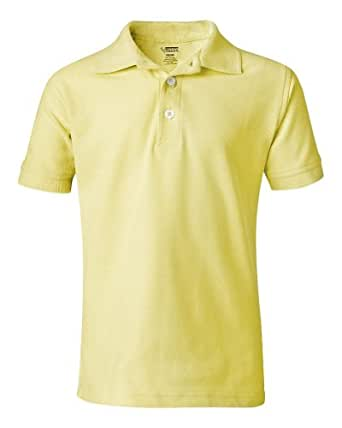French Toast S/S Pique Polo - yellow, 5
