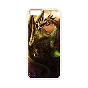 Ancient Dragon iPhone 6 4.7 Inch Cell Phone Case White 218y-690464