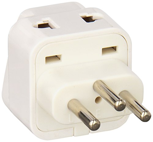 CKITZE BA-11AN Grounded Universal 2 in 1 Plug Adapter Type J