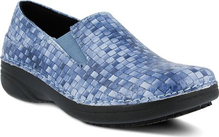 Women's Basketweave Manmade Step Ferrara Work Spring Blue Shoe gxOUq5nYw