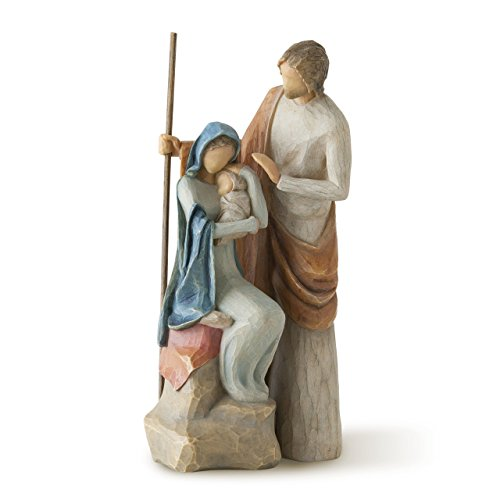 Willow Tree The Holy Family, sculpted hand-painted nativity - Tree Family Jesus