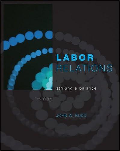 Labor Relations: Striking a Balance
