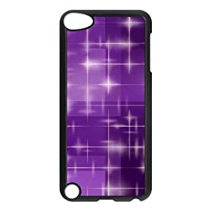 Shiny Star Sparkle Purple Beautiful Fashion Hard Case Cover for Ipod Touch 5