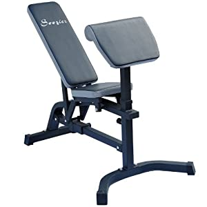 Amazon Com Soozier Incline Flat Exercise Weight Bench