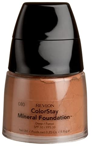 Revlon ColorStay Mineral Foundation, Deep, 0.35