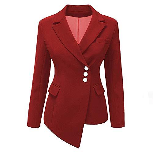 Sport Coat Madras (Women Plus Size Mujer Blazers and Jackets Slim Short Suit Coat)