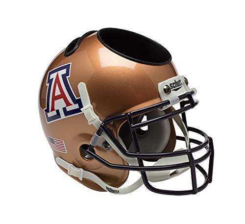 7c15af4e Schutt NCAA Arizona Wildcats Football Helmet Desk Caddy