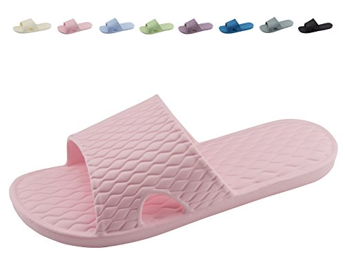 Men Pink and Bathroom Home Outdoor Non Slip Shower Women Slippers Soft Sandals Bath Indoor Shoes tAx6gI