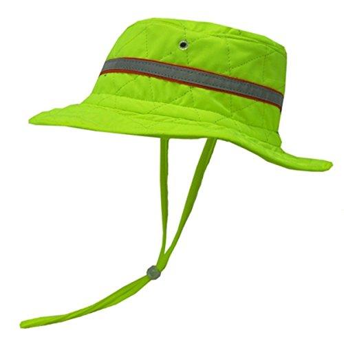Techniche Hyperkewl Evaporative Cooling Ranger Hat, Large To X-Large, Hi-Vis Lime