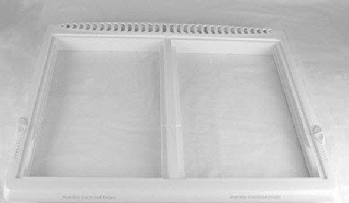 (240364718 Frigidaire Refrigerator Cover Frame Crisper Pan)