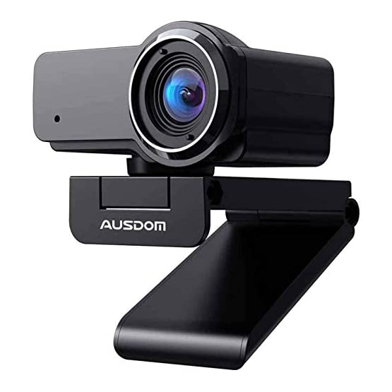 HD Webcam 1080P with Microphone, Ausdom USB Computer Web Camera, OBS Live Streaming Webcam, Widescreen Video Camera for… 41LbgbyBFlL. SS555