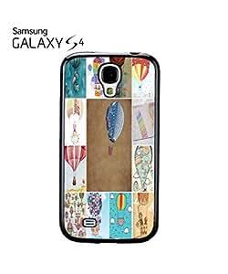 Balloon Fun Holiday Mobile Cell Phone Case Samsung Galaxy S4 Black