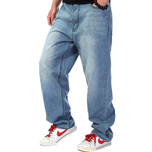 Denim Jeans Giovane Casual Yasminey Colour A Uomo Pantaloni Blu Vintage Lunghi Bassa Da In Eleganti Vita qv5CH7v