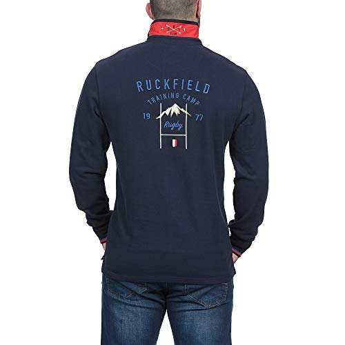 Ruckfield Ruckfield Para Hombre Azul Polo Polo Para y8FBcpCWy