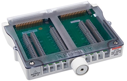 Keithley 3721 St Screw Terminal Block Required For Auto Cjc Thermocouple Measurements