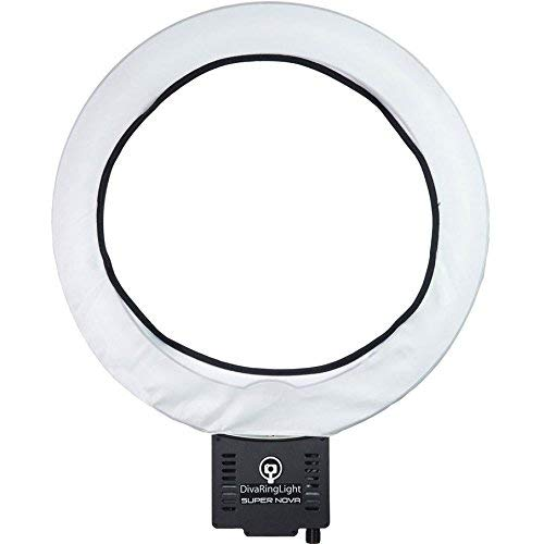 "Diva Ring Light Super Nova 18"" Dimmable Ring Light"
