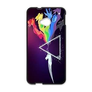 HTC One M7 Phone Cases Black Pokemon ERG724919