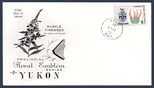 Canada First Day Cover Postage Stamp # 428 - Provincial Flowers & Coat of Arms - ()