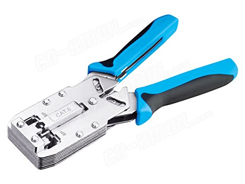 Multifunctional Ethernet Cable Modular Tool Crimping Plier TL-2810 Cat6 RJ45 RJ11 Crimper Stripper Cutter - 2810 Cables