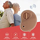 2018 Portable Mini Hearing Aid Sound Amplifier in The Ear Tone Volume Adjustable