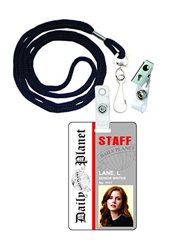 Lois Lane Superman Novelty ID Badge Film Prop for Costume and Cosplay • Halloween and Party Accessories]()