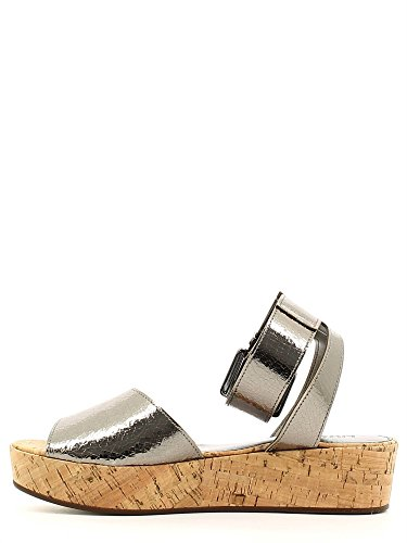mujer zapato de cuero Liu Jo S16123 E0213 Peltro