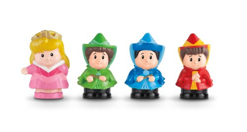 Fisher-Price Little People Disney Pricess, Aurora and Friends