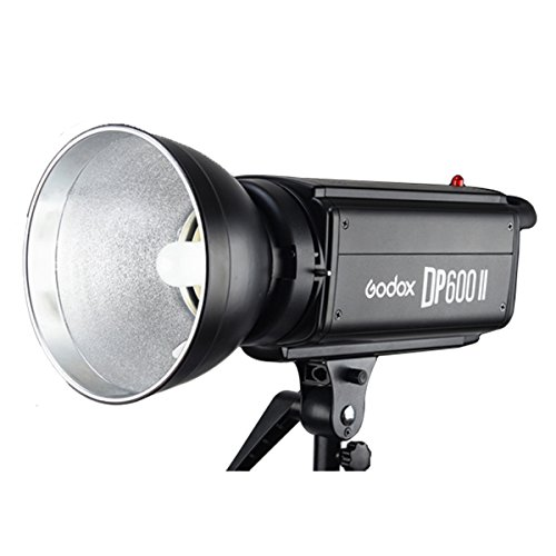 Godox DP600II 600Ws GN80 5600K Color Temperature 0.3-1.2s Recycle Time 2.4GHz Strobe Flash Studio Light (100-120V) by Godox