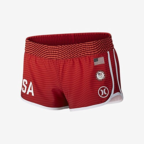 Hurley US Olympic Red L Women's Boardshorts