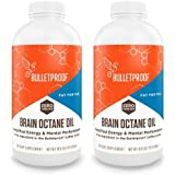 Bulletproof Brain Octane Oil, Reliable and Quick Source of Energy, Ketogenic Diet, More Than Just MCT Oil, (2-Pack of 16oz)