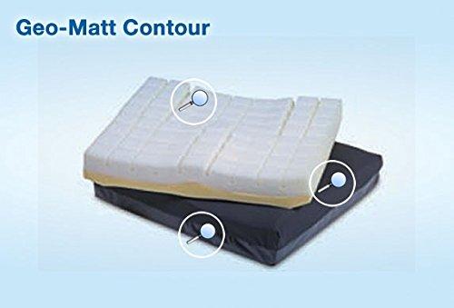 Geo-Matt Contour Cushion - 20W x 18L