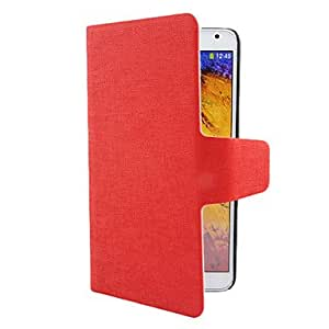 Stripe Pattern TPU Case with Stand for Samsung Note 3 (Assorted Colors) --- COLOR:Red