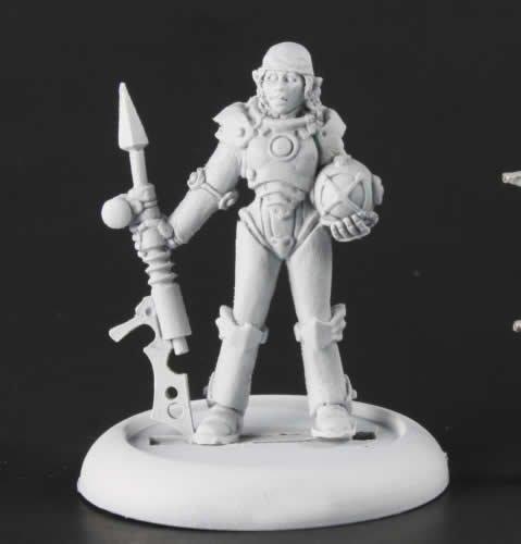 Reaper Miniatures Chrono: Jewel44; Steampunk Aquanaut 50301 3