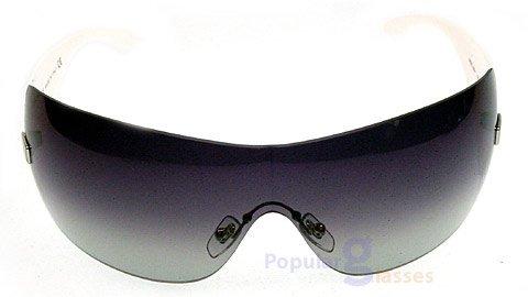 Versace 2054 10008G GRAYGRADIENT/SHINYWHITE Designer Sunglasses