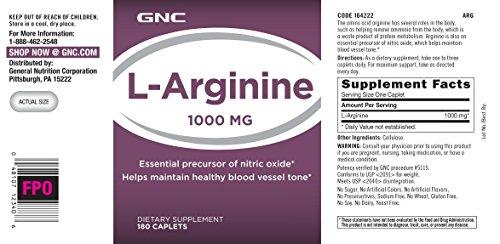 GNC L-Arginine 1000MG by GNC (Image #3)
