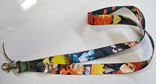 Naruto Lanyard Key Chain ID Badge Protector Original