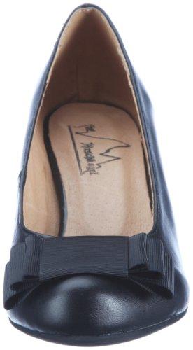de 0593128 0593128 de vestir Andrea Conti para Zapatos Negro cuero mujer I5W4w