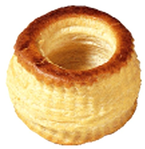 Roland Foods Bouchees, Lids Attached, (Pack of 60)