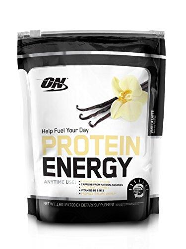 OPTIMUM NUTRITION On Protein Energy Supplement, Vanilla Latte, 1.6 Pound
