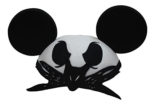 Disney Parks Jack Skellington Mickey Mouse Ears Hat