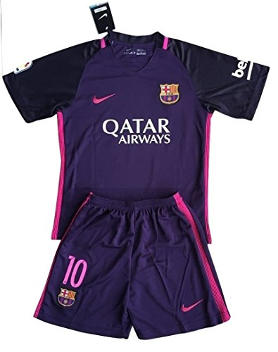 8a32711c7 Messi  10 FC Barcelona 2016-17 Youths Away Kit Shirt   Shorts (7-8 Years Old)  - Buy Online in KSA. Misc. products in Saudi Arabia.
