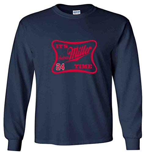 The Silo LONG SLEEVE NAVY Cleveland