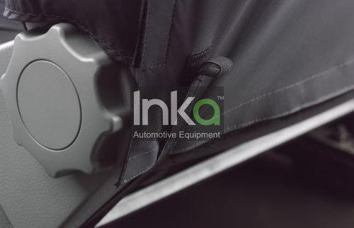 2010 2015 Inka California arri/ère pour 5th Seat Inka sur mesure Enti/èrement /étanche Housse de si/ège en gris