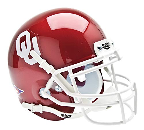 Sooners Helmet Ncaa Oklahoma - Schutt NCAA Mini Authentic XP Football Helmet, Oklahoma Sooners