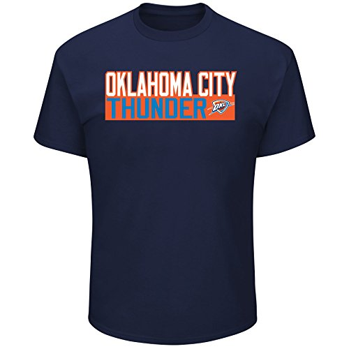 Carmelo Anthony Oklahoma City Thunder #7 NBA Men's Vertical Player T-Shirt Navy (Small)
