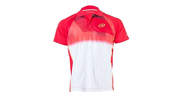Bull padel POLO BULLPADEL TIRRENIA ROJO: Amazon.es: Deportes y ...