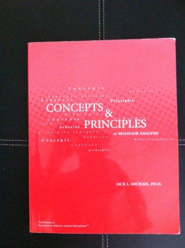 Concepts and Principles of Behavior Analysis
