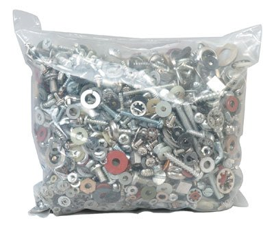 Jameco Valuepro GB149LB Screw Nut and Washer Grab Bag